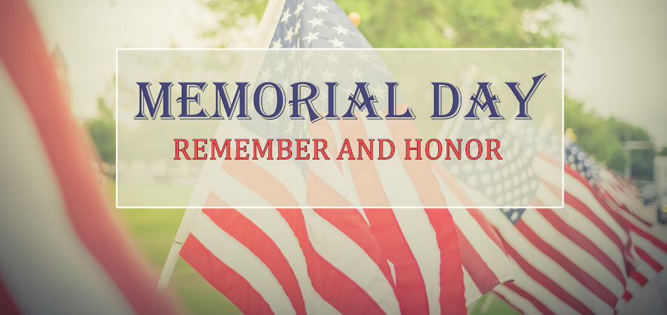 CDH Offices Closed Monday, May 25 in Observance of Memorial Day